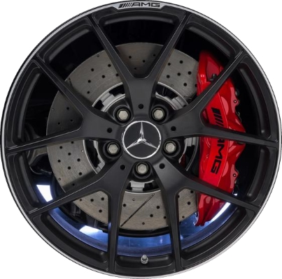 Mercedes c63 wheels rims wheel rim stock oem replacement for Mercedes benz lug pattern