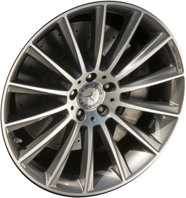 Mercedes s550 wheels rims wheel rim stock oem replacement for Mercedes benz replacement wheels