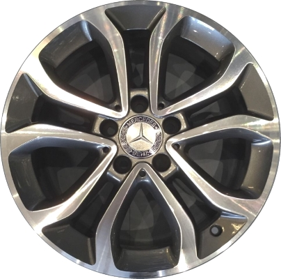 Mercedes c300 c300d wheels rims wheel rim stock oem for Mercedes benz c300 rims