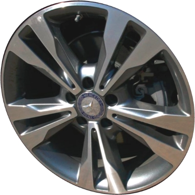Mercedes c300 c300d wheels rims wheel rim stock oem for Mercedes benz c300 tire pressure