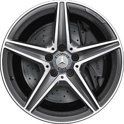 Mercedes c300 c300d wheels rims wheel rim stock oem for Mercedes benz replacement wheels