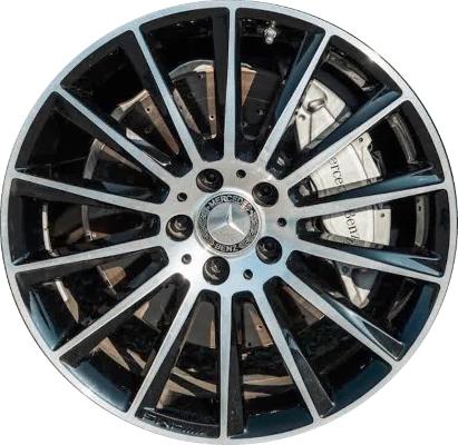 Mercedes C300 C300d Wheels Rims Wheel Rim Stock Oem