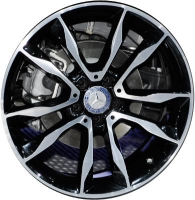 Mercedes gla250 wheels rims wheel rim stock oem replacement for Mercedes benz replacement wheels