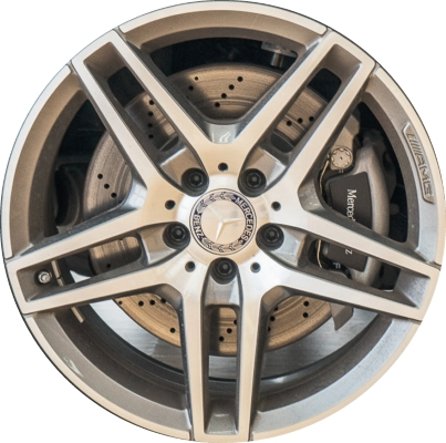 Mercedes e350 wheels rims wheel rim stock oem replacement for Mercedes benz lug pattern