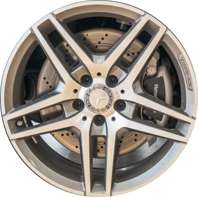 Mercedes e350 wheels rims wheel rim stock oem replacement for Mercedes benz replacement wheels
