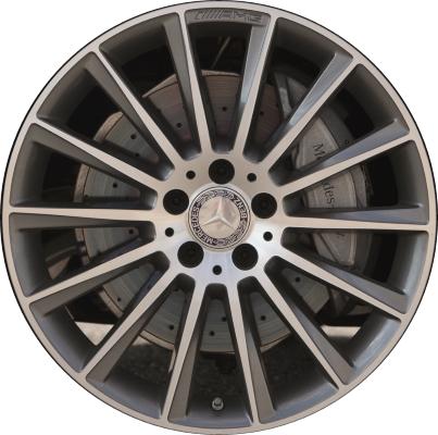 Mercedes cls400 wheels rims wheel rim stock oem replacement for Mercedes benz replacement wheels
