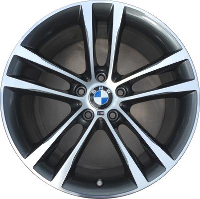 "BMW 320i 328d 330i 330e 340i 330i GT 340i GT 2018 19/"" OEM Front Wheel Rim"
