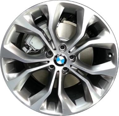 Aly86055 86060 Bmw X5 X6 Wheel Grey Machined 36116853959