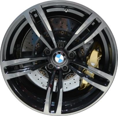 Oem Bmw Wheels >> Aly86094u45 Bmw M2 M3 M4 Wheel Black Machined 36112284550