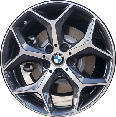 Aly86217 Bmw X1 X2 Wheel Charcoal Machined 36116856070