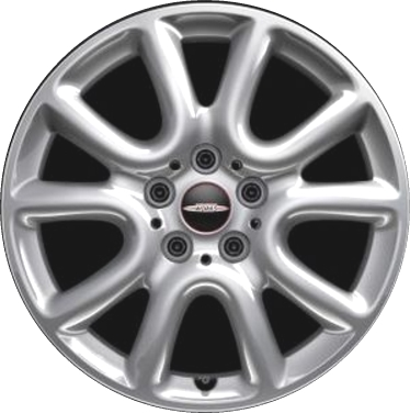Aly86252 Mini Cooper Wheel Silver Painted 36116855110
