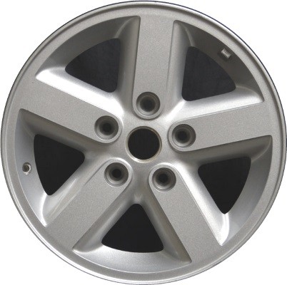 ALY9073 Jeep Wrangler Wheel Silver Painted #1AH77TRMAB