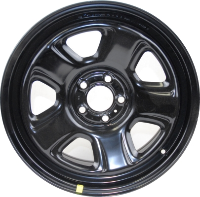 STL4040 Dodge Charger Police Wheel Steel Black 40AE Adorable Dodge Charger Lug Pattern