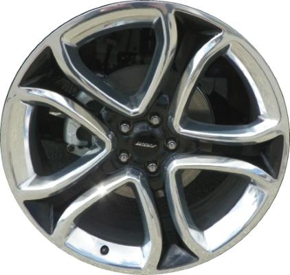 Alyu A Lb Ford Edge Wheel Black Polished Btzf
