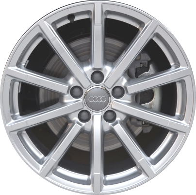 Aly58973u77 Audi A6 Wheel Hyper Silver 4g9601025j