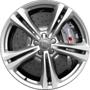 Aly58920 Audi S6 Wheel Silver Painted 4g0601025j