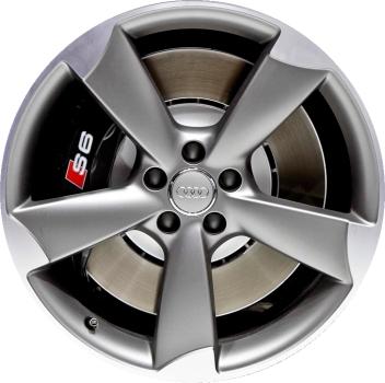 Audi stock rims