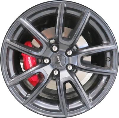 ALY600 Dodge Durango Wheel Black Painted 60DH60TRMAA Cool Dodge Durango Lug Pattern