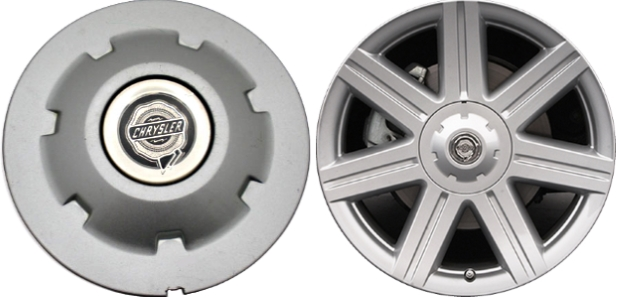 Buy Chrysler Crossfire Center Caps Factory Oem Hubcaps
