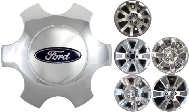 2009-2014 FORD F150 TRUCK EXPEDITION CHROME WHEEL HUB CENTER CAP NEW