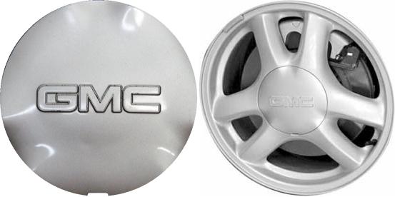 C5136 Gmc Envoy Oem Silver Painted Center Cap 9593392