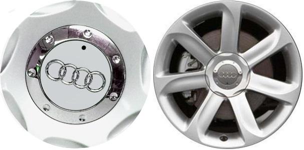 C Audi TT Center Cap J - Audi wheel center caps