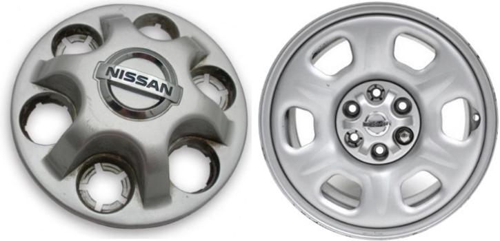 2005-2012 Nissan Frontier Center Cap Hubcap OEM 40315 EAOOA