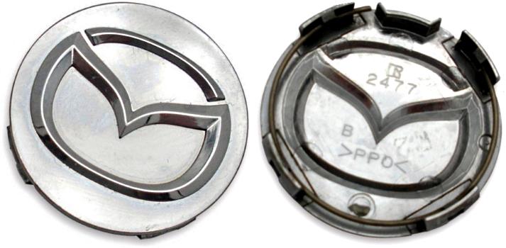 C64868 Mazda Protege OEM Chrome Center Cap #L082-37-192