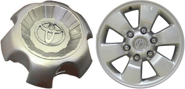 4pcs 03 09 Toyota 4runner Wheel Center Caps Hubcaps Set 69428