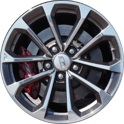 cadillac ats wheels rims wheel rim stock oem replacement. Black Bedroom Furniture Sets. Home Design Ideas