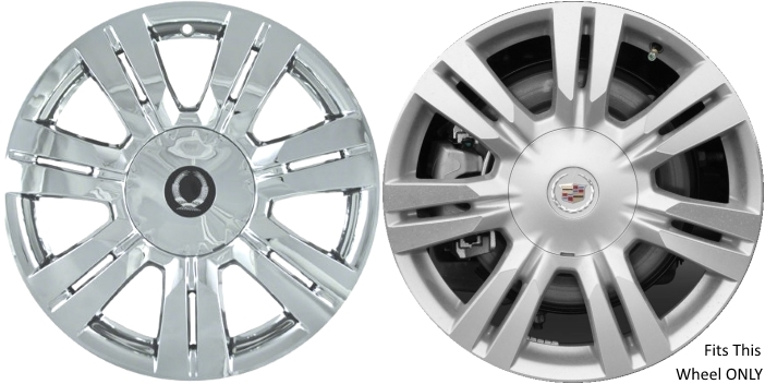 Cadillac Srx Chrome Wheel Skins Hubcaps Simulators
