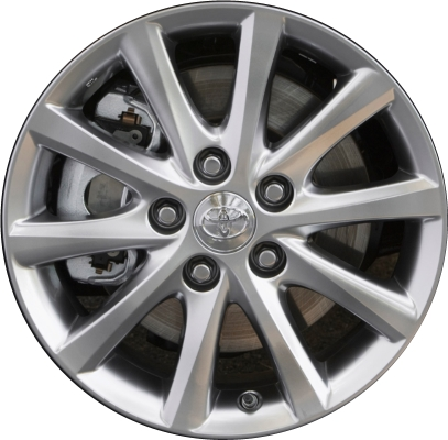 2012 Toyota Camry Tire Size >> Toyota Camry Wheels Rims Wheel Rim Stock OEM Replacement