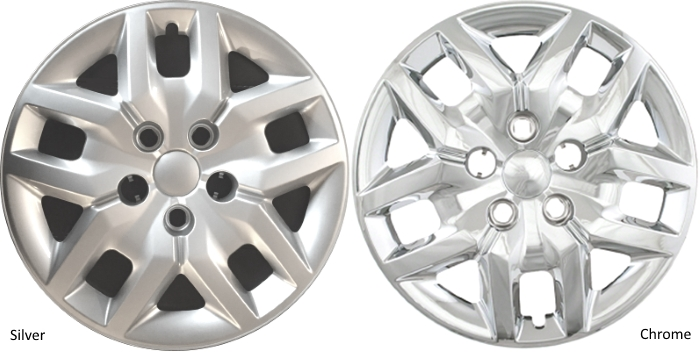 "2016-2017 17/"" Dodge Grand Caravan Chrome Bolt On Hubcaps Wheel Covers Set of 4"