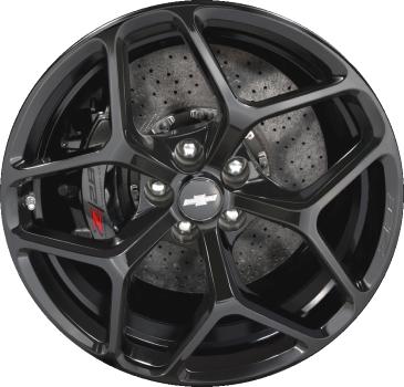 Aly5623 Chevrolet Camaro Z 28 Wheel Black Painted 22873225