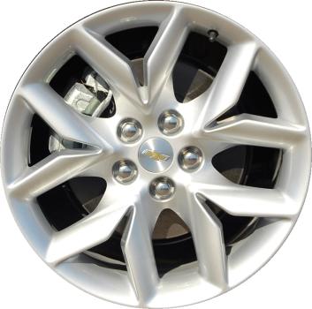 ALY98508U20/5614 Chevrolet Impala Wheel Silver Painted ...