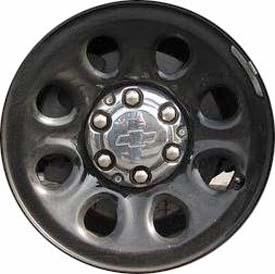 STL8074 Chevrolet Tahoe Suburban Police Wheel Steel Black 9596468