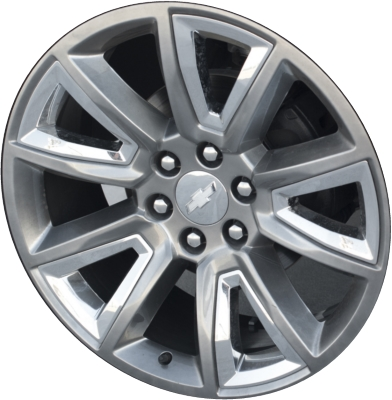 Aly5696hh Chevrolet Silverado Suburban Tahoe Rim Dark Hyper 22912545