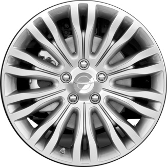 Aly2433u90hh 2392 Chrysler 200 Wheel Silver Machined 1ta78trmab