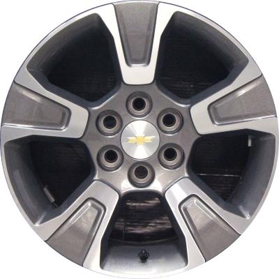 Chevy Colorado Lug Pattern >> Aly5671 Chevrolet Colorado Wheel Charcoal Machined 94775680