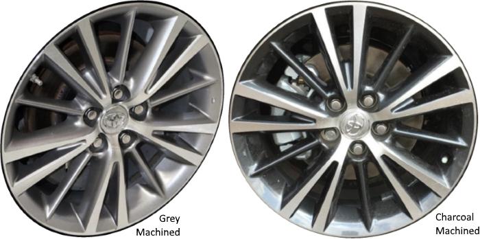 Aly75150u Toyota Corolla Wheel Machined 4261102f70