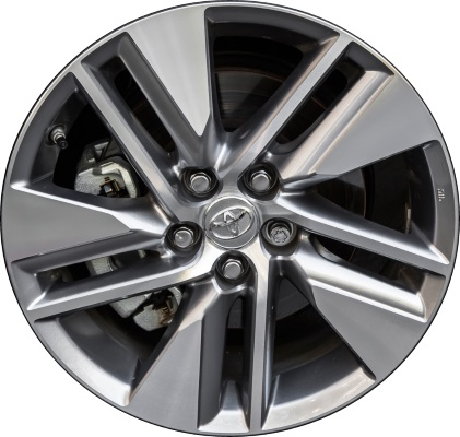 Aly75151 Toyota Corolla Wheel Grey Machined 4261102j20
