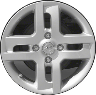 aly62532 nissan cube wheel silver painted #d03001fc2a