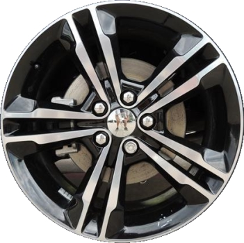 charger dodge awd wheel rims wheels rim replacement factory polished 2410 oem painted pbp silver