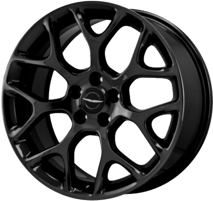 Aly2514u45 Chrysler 200 Dodge Dart Wheel Black 82214190