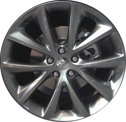 Dodge Durango Lug Pattern >> Aly2496u79 Dodge Durango Wheel Dark Hyper 1xc17jxyaa