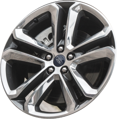 Aly Ford Edge Wheel Charcoal Polished Ftzc