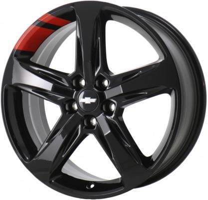 Aly5831hh Chevrolet Equinox Redline Wheel Black Painted