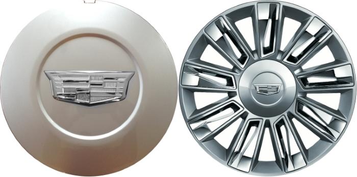 """2015-2017 Cadillac Escalade 22/"""" Chrome Wheel Center Hub Caps Rim Lug Covers Hubs"""
