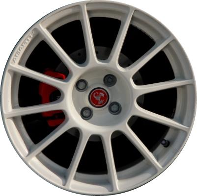 Fiat 500 White >> Fiat 500 500c Wheels Rims Wheel Rim Stock OEM Replacement