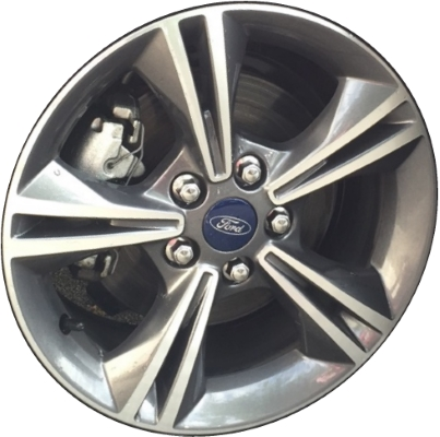 Aly3879 Ford Focus Wheel Grey Machined Cv6z1007e